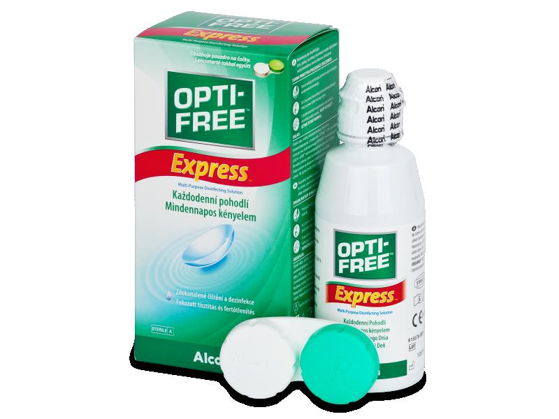 OPTI-FREE Express kontaktlencse folyadék 120ml  - Ápolószer