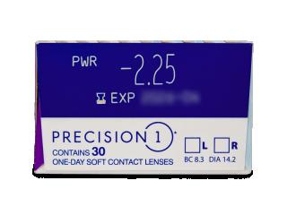 Precision1 (30 db lencse) - Paraméterek előnézete