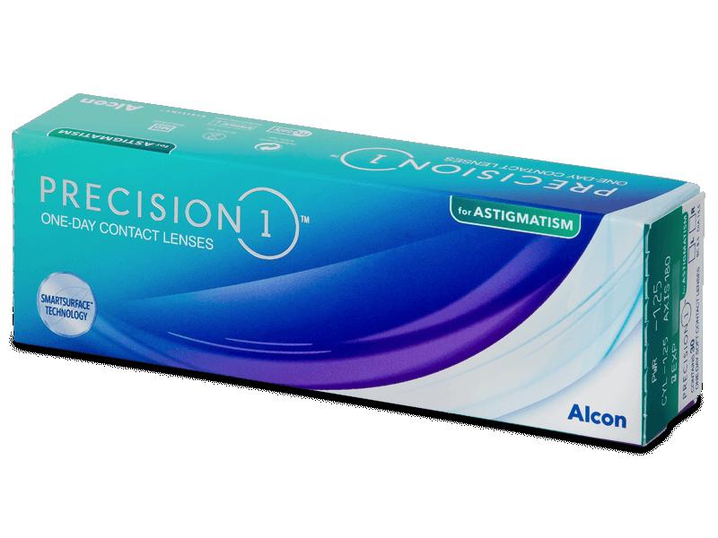 Precision1 for Astigmatism (30 db lencse) - Tórikus kontaktlencsék