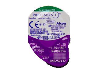 Precision1 for Astigmatism (30 db lencse) - Buborékcsomagolás előnézete