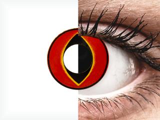 ColourVUE Crazy Lens - Mad Frog - dioptria nélkül (2 db lencse)