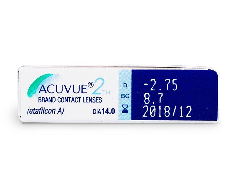 Acuvue 2 (6db lencse) - Paraméterek előnézete