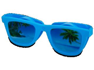 OptiShades lencsetartó  - kék