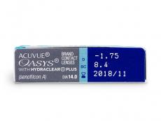 Acuvue Oasys (6db lencse) - Paraméterek előnézete
