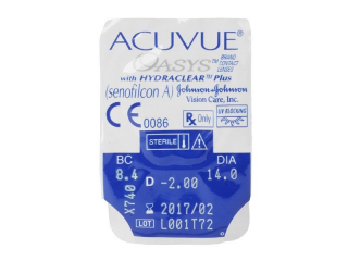 Acuvue Oasys (6db lencse) - Buborékcsomagolás előnézete