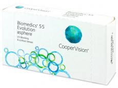 Biomedics 55 Evolution (6db lencse)