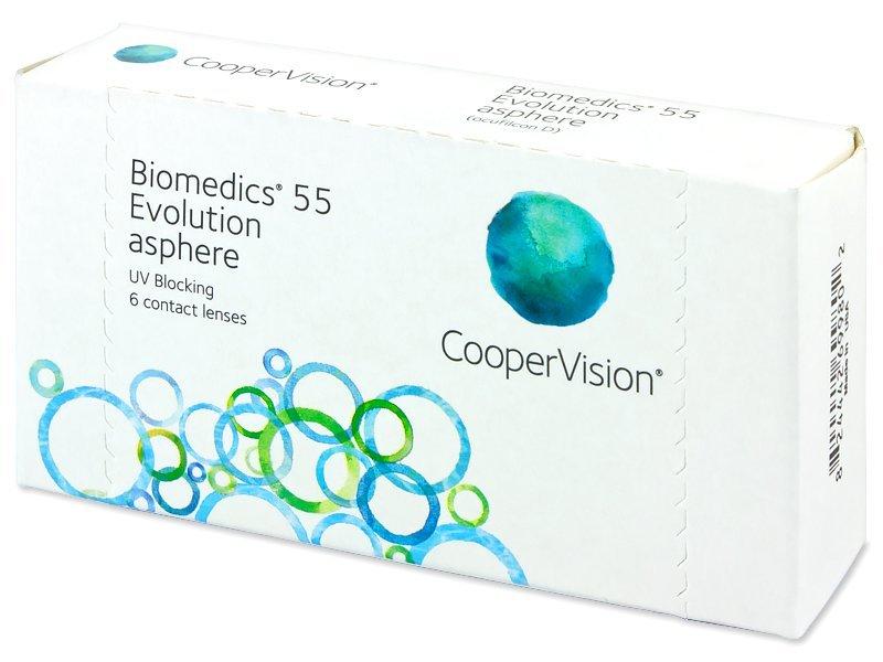Biomedics 55 Evolution (6db lencse) - Havi kontaktlencsék