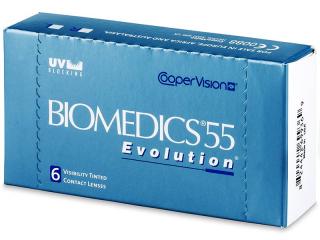 Biomedics 55 Evolution (6db lencse) - Korábbi csomagolás