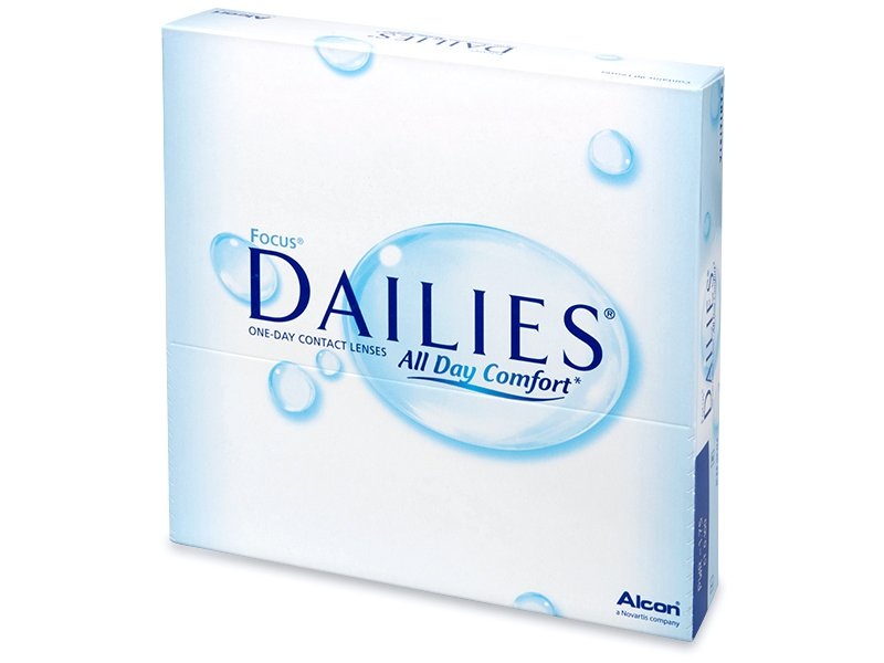 Focus Dailies All Day Comfort (90 db lencse)