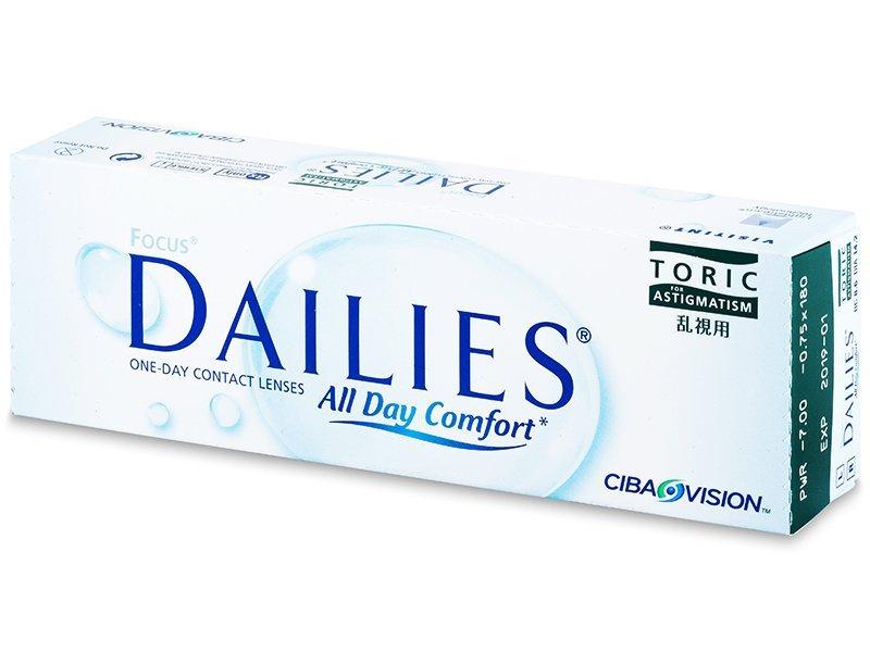 Focus Dailies Toric (30db lencse) - Tórikus kontaktlencsék