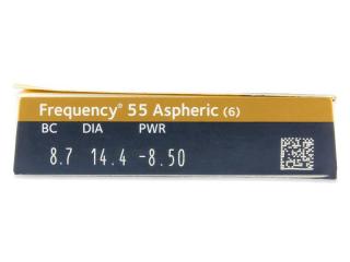 Frequency 55 Aspheric (6db lencse) - Paraméterek előnézete