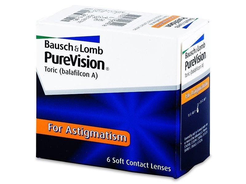 PureVision Toric (6db lencse) - Tórikus kontaktlencsék