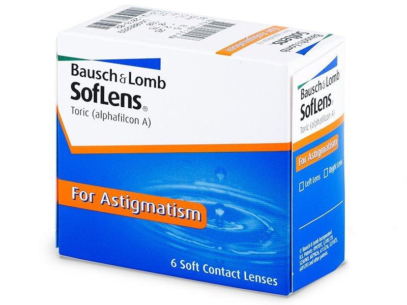 SofLens Toric (6db lencse) - Tórikus kontaktlencsék