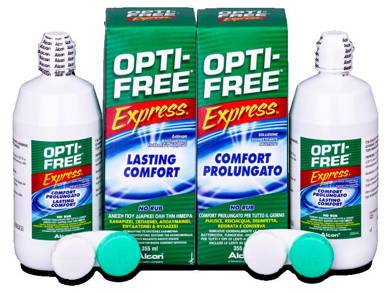 OPTI-FREE Express kontaktlencse folyadék 2x355ml