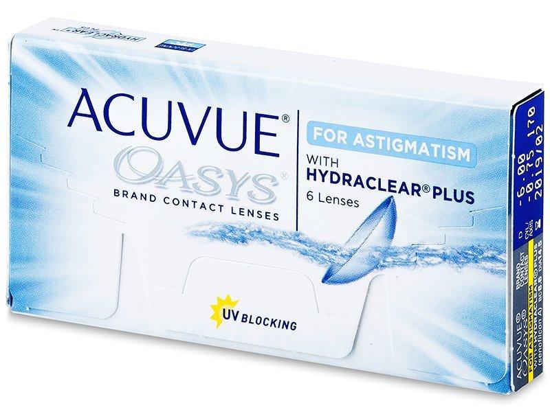 Acuvue Oasys for Astigmatism (6db lencse) - Tórikus kontaktlencsék