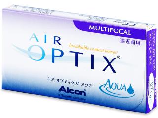 Air Optix Aqua Multifocal (3db lencse) - Korábbi csomagolás