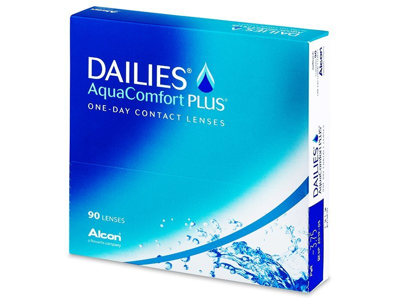 Dailies AquaComfort Plus (90db lencse) - Napi kontaktlencsék