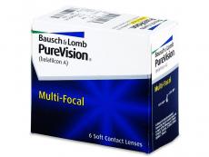 PureVision Multi-Focal (6db lencse) - Multifokális kontaktlencsék