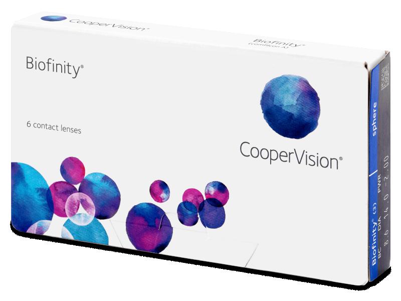 Biofinity (6db lencse) - Havi kontaktlencsék