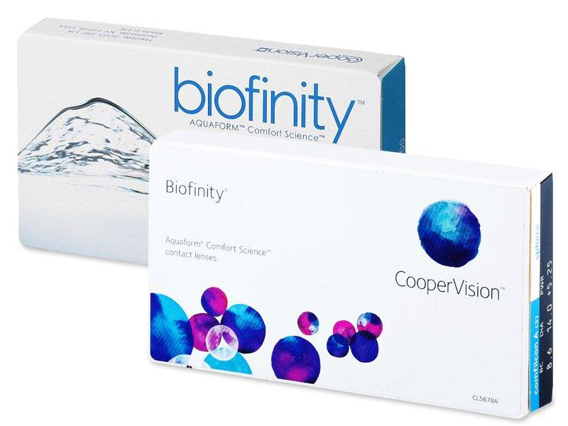 Biofinity (6db lencse) - Korábbi csomagolás
