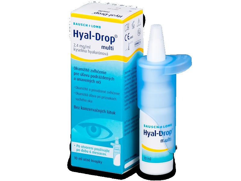 Hyal-Drop Multi szemcsepp 10ml  - Szemcsepp