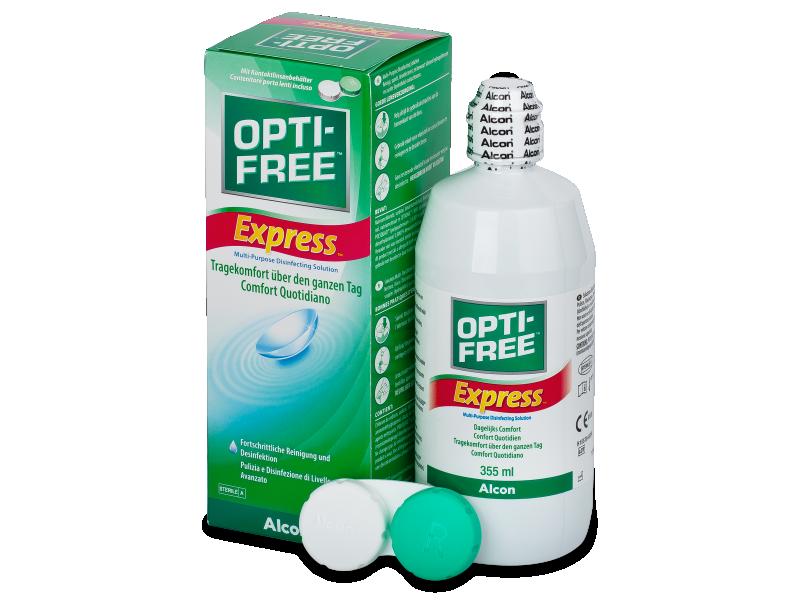 OPTI-FREE Express kontaktlencse folyadék 355ml  - Ápolószer