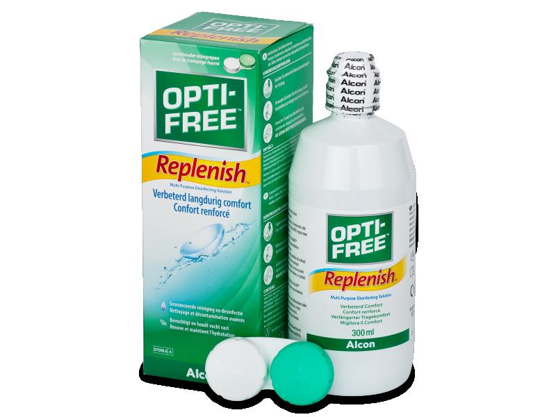 OPTI-FREE RepleniSH  kontaktlencse folyadék 300ml  - Ápolószer