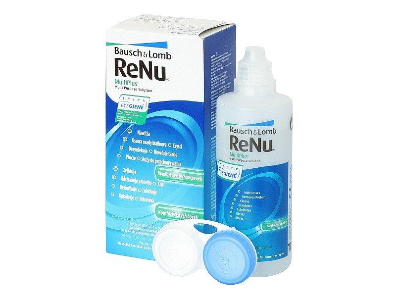 ReNu MultiPlus kontaktlencse folyadék 120ml  - Korábbi csomagolás
