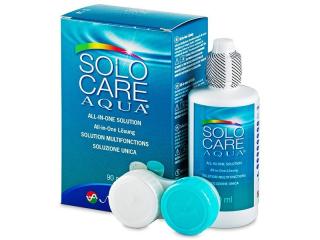 SoloCare Aqua kontaktlencse folyadék 90ml  - Korábbi csomagolás