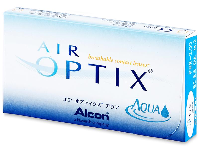Air Optix Aqua (6db lencse) - Korábbi csomagolás