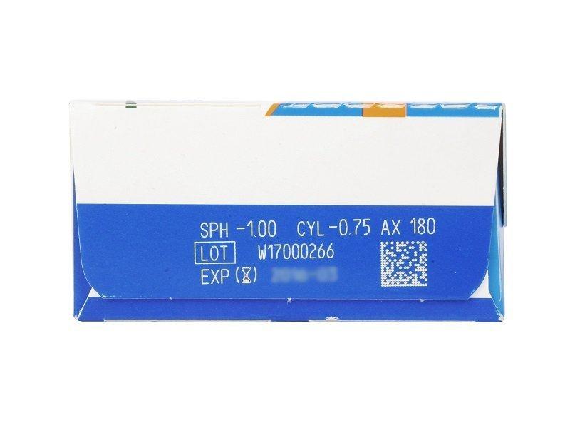 SofLens Daily Disposable Toric (30db lencse) - Paraméterek előnézete