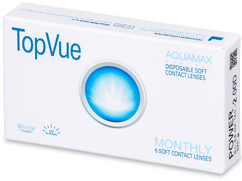 TopVue Monthly (6db lencse) - Havi kontaktlencsék