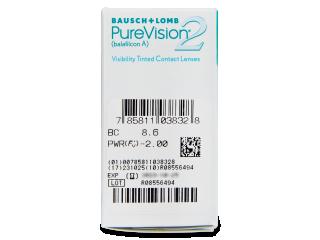 PureVision 2 (6db lencse) - Paraméterek előnézete
