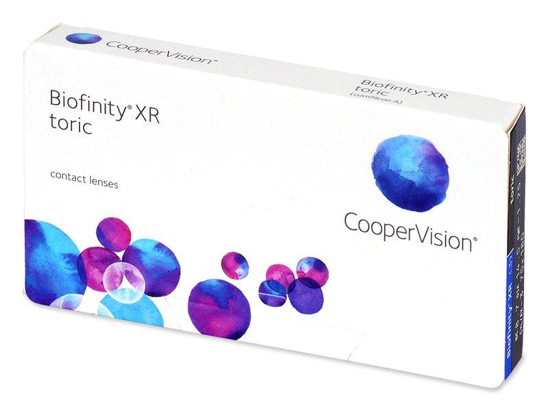 Biofinity XR Toric (3 lencse) - Tórikus kontaktlencsék
