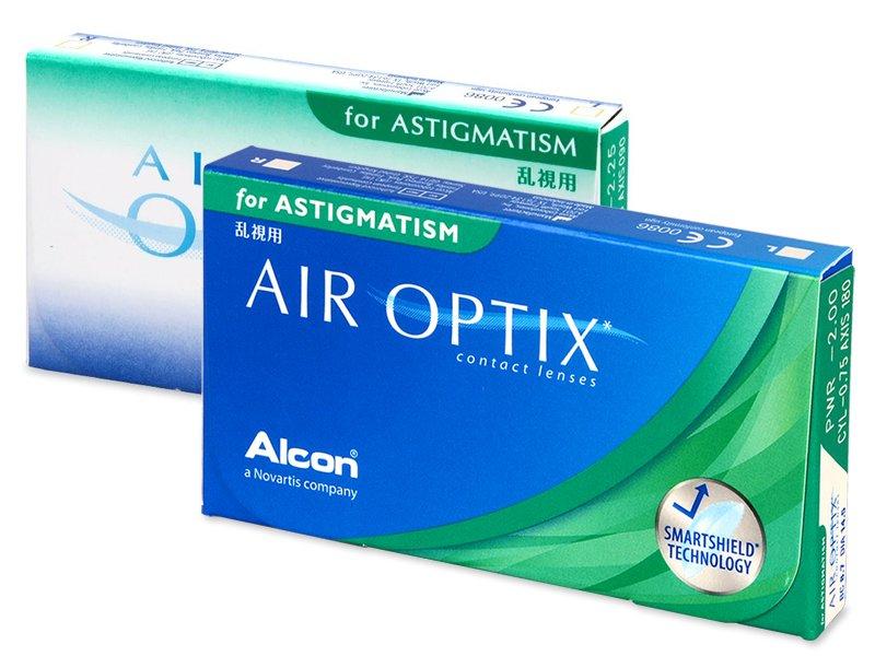 Air Optix for Astigmatism (6db lencse) - Tórikus kontaktlencsék