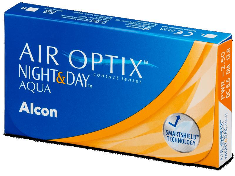 Air Optix Night and Day Aqua (3db lencse) - Havi kontaktlencsék